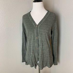 100% silk travelsmith cardigan